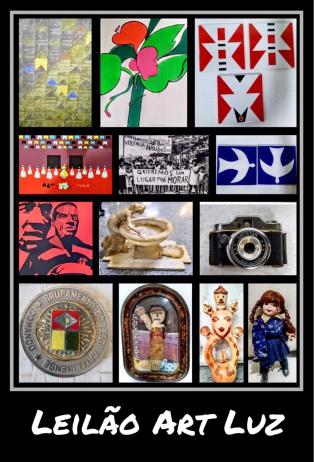 LEILÃO 1218 - LEILÃO ART LUZ - QUADROS, COLECIONISMO, ARTE POPULAR  E  BRINQUEDOS