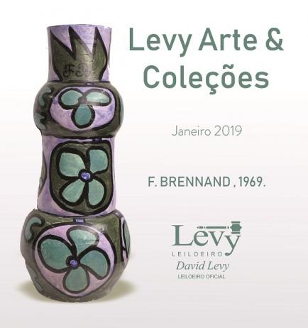 LEILÃO 3009 - LEVY ARTE & COLEÇÕES - ACERVO PARTICULAR E OUTROS - JANEIRO 2019